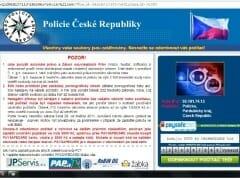 Policie ČR virus