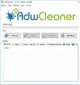utilita k dočištění počítače
